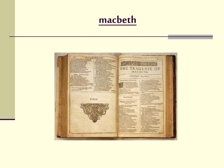 the presentation of macbeth as a mature man in shakespeares macbeth Macbeth free essays, term papers and book reports  macbeth is first presented as a mature man of definitely  shakespeares macbeth is one of his most.