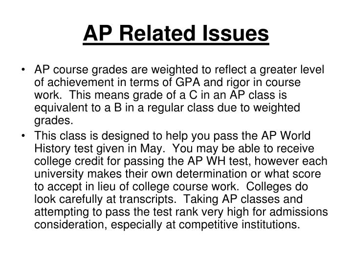 Ap related issues