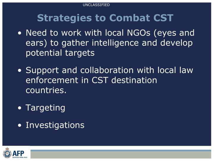 Strategies to Combat CST