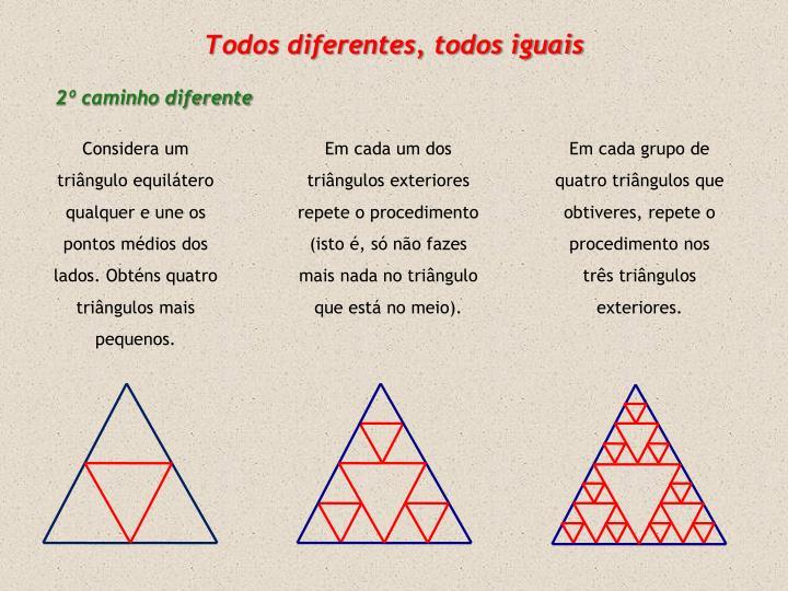 Todos diferentes, todos iguais