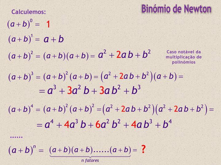 Binómio de Newton