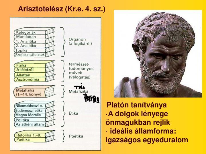Arisztotelész (Kr.e. 4. sz.)