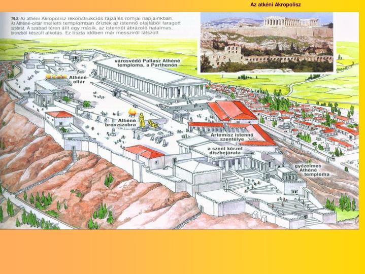 Az atkéni Akropolisz