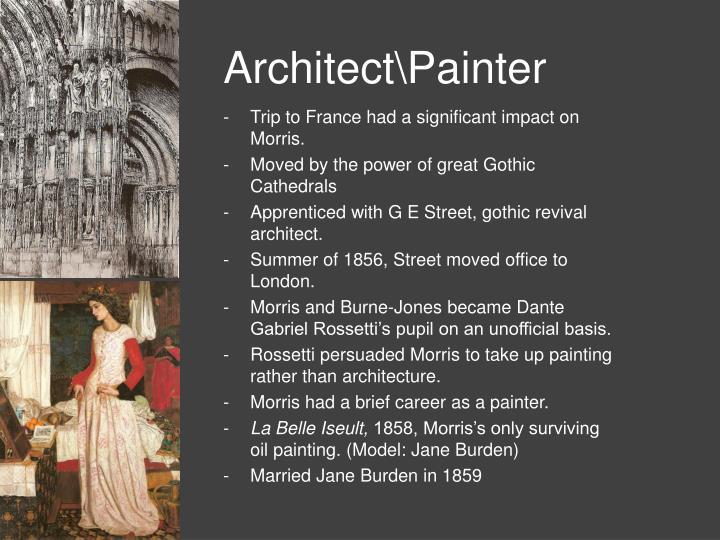 Architect\Painter