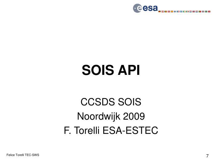 SOIS API