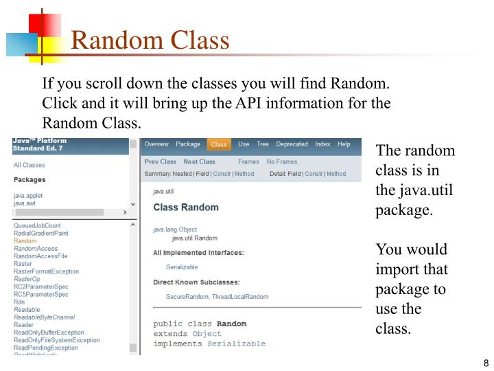Random Class