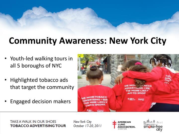 Community Awareness: New York City