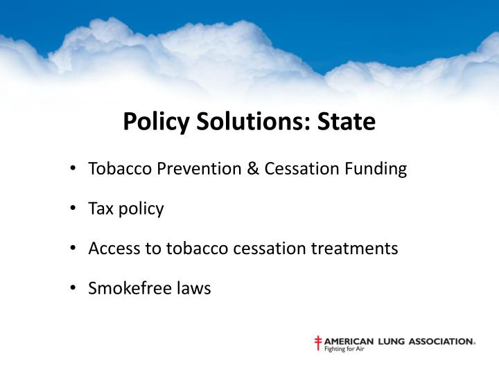 Policy Solutions: State