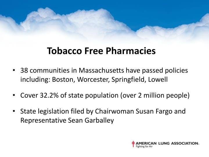 Tobacco Free Pharmacies
