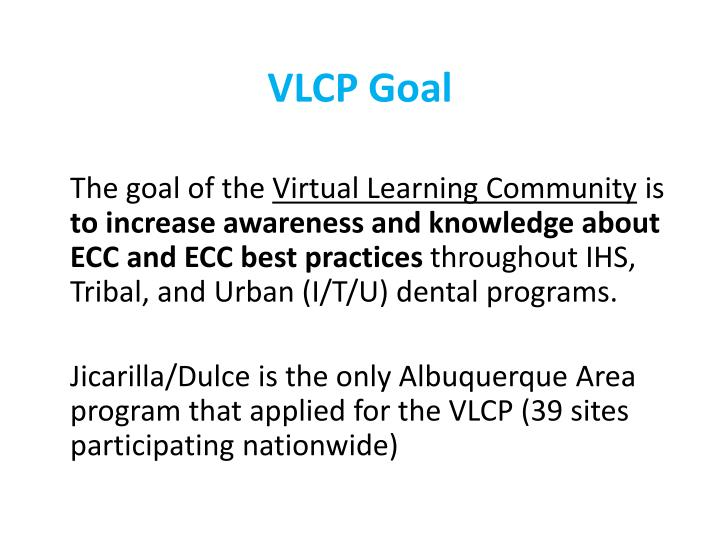 VLCP Goal