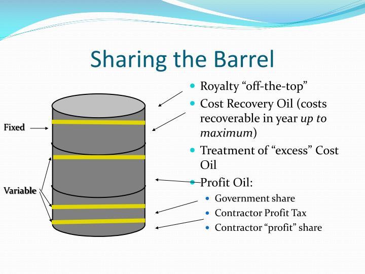 Sharing the Barrel