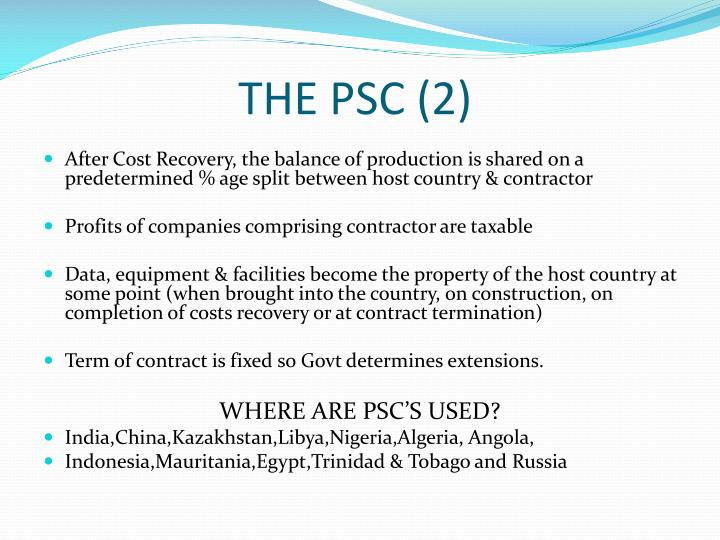 THE PSC (2)