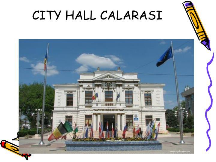CITY HALL CALARASI