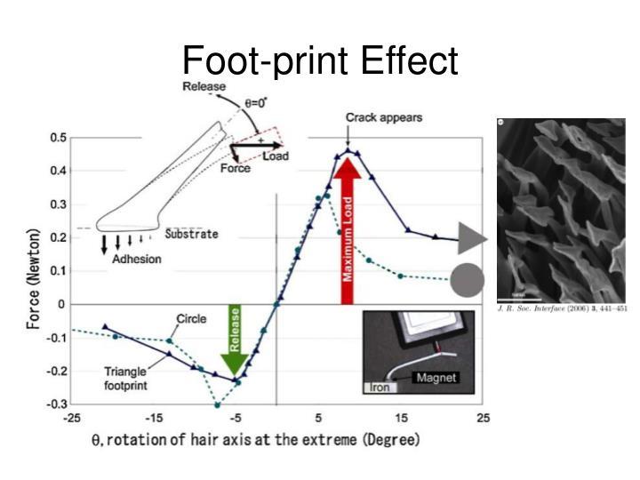 Foot-print Effect
