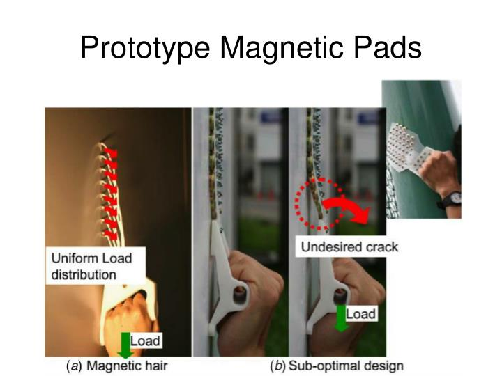 Prototype Magnetic Pads