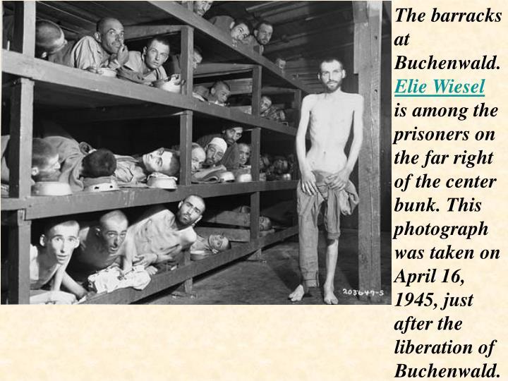 The barracks at Buchenwald.