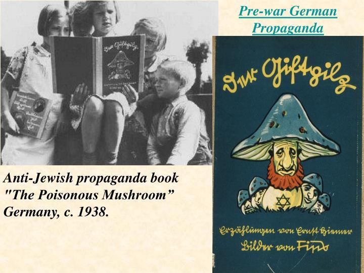 Pre-war German Propaganda