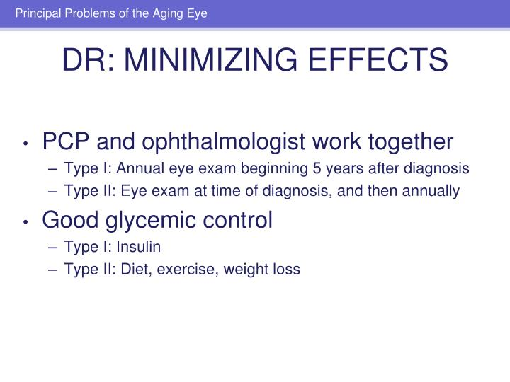 PCP and ophthalmologist work together