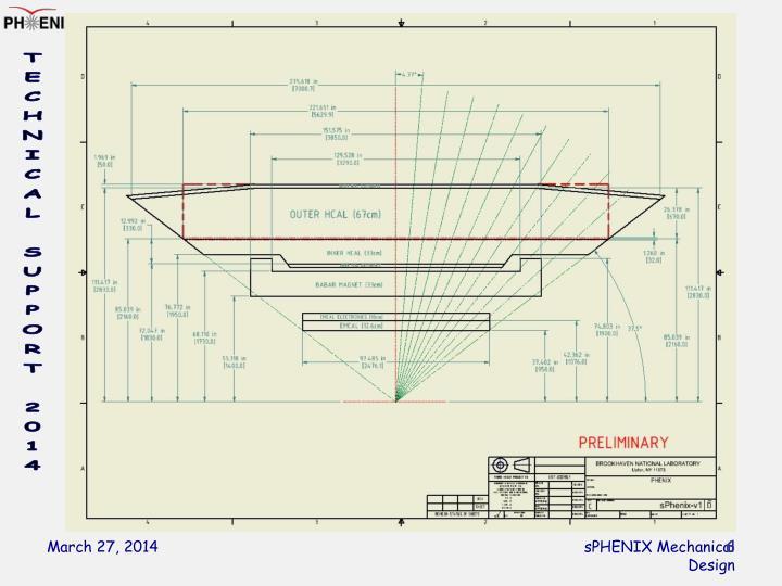sPHENIX Mechanical Design