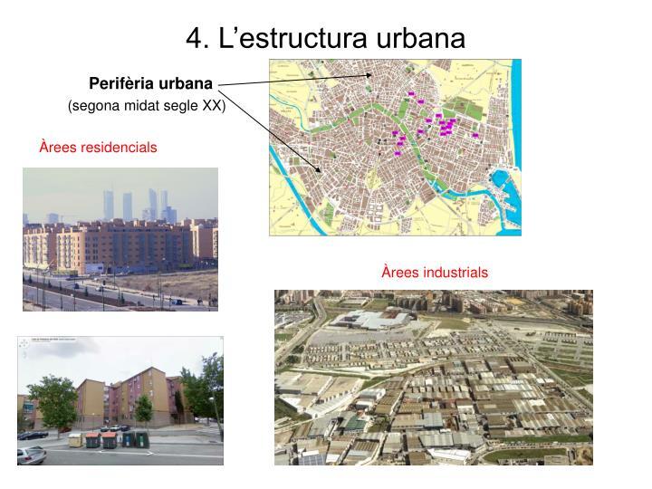4. L'estructura urbana