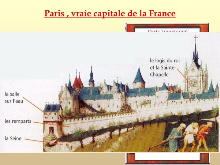 Paris , vraie capitale de la France