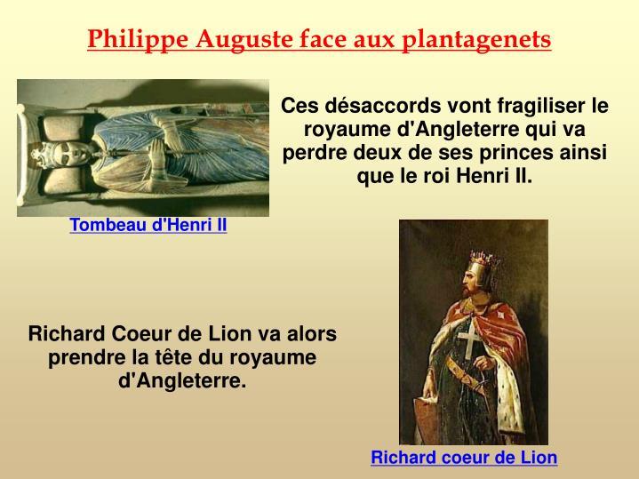 Philippe Auguste face aux plantagenets