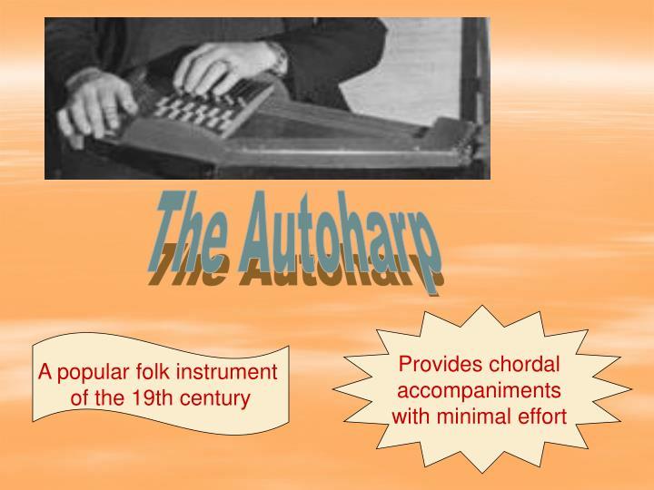 The Autoharp