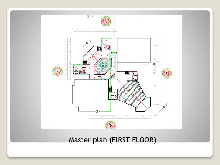 Master plan (FIRST FLOOR)