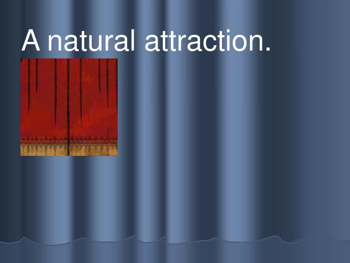A natural attraction.