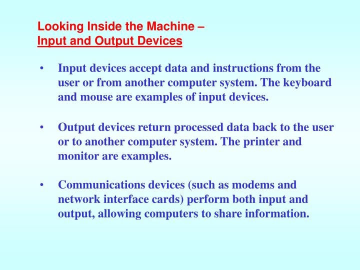Looking Inside the Machine –