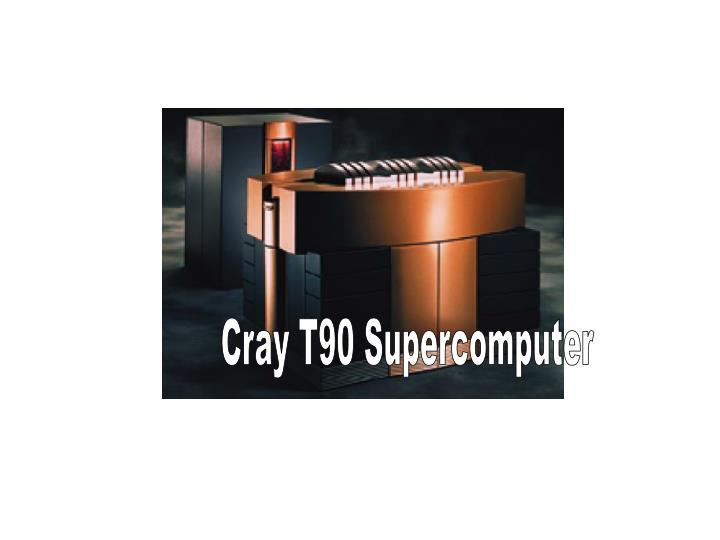 Cray T90 Supercomputer