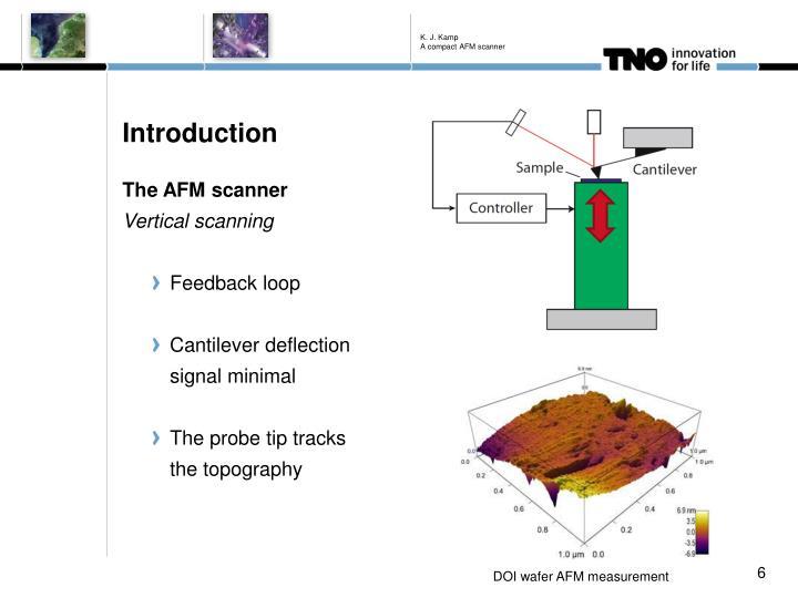 K. J. Kamp A compact AFM scanner
