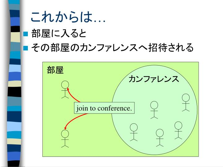 join to conference.