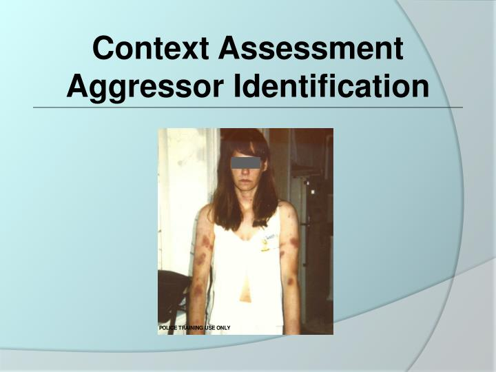 Context Assessment