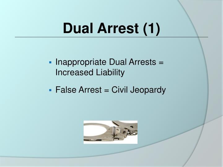 Dual Arrest (1)