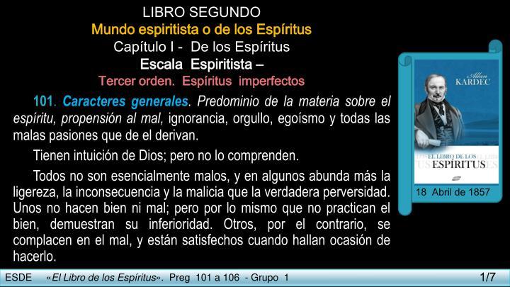 LIBRO SEGUNDO