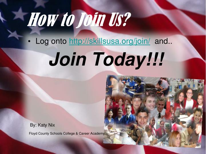 How to Join Us?