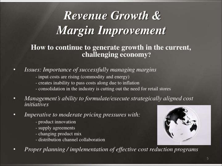 Revenue Growth &