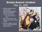 brooks sumner incident may 22 1856