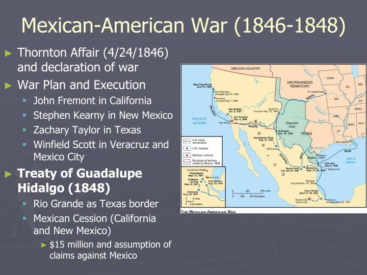 Mexican-American War (1846-1848)