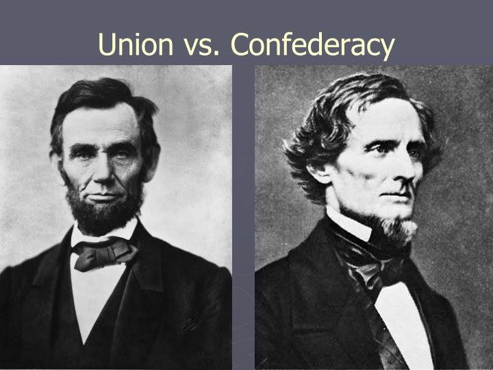 Union vs. Confederacy