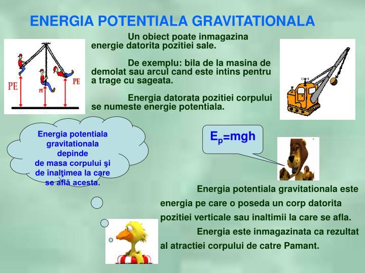 Energia potentiala