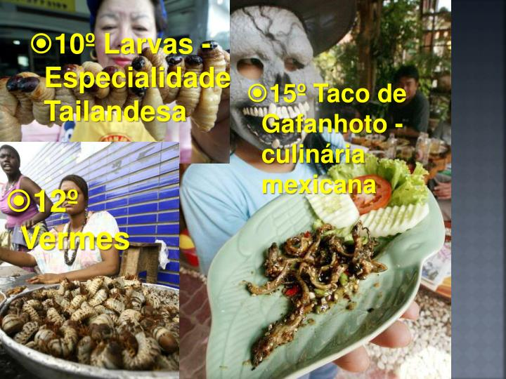 10º Larvas -  Especialidade Tailandesa