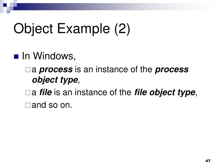 Object Example (2)