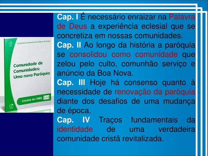 Cap. I