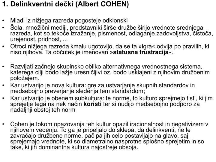 Delinkventni dečki (Albert COHEN)