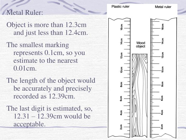 Metal Ruler: