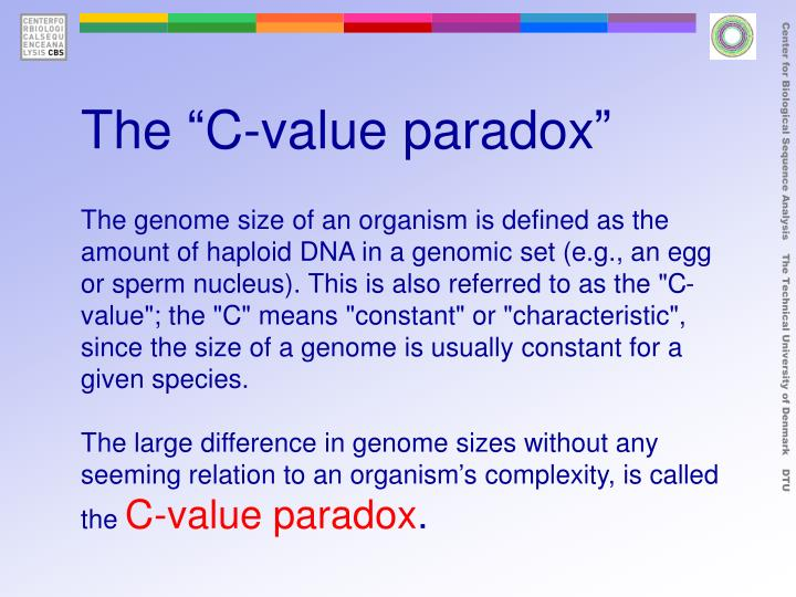 "The ""C-value paradox"""