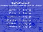 sig fig practice 1