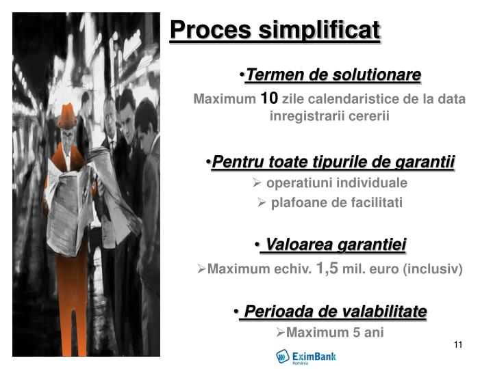 Proces simplificat